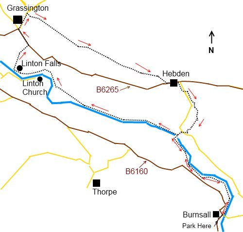 Burnsall To Grassington