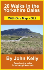 Kindle Book 20 Walks in the Yorkshire Dales